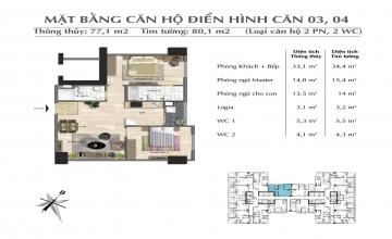 Thiết kế căn hộ tòa Park 01
