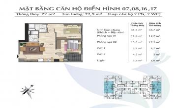 Thiết kế căn hộ tòa Park 02