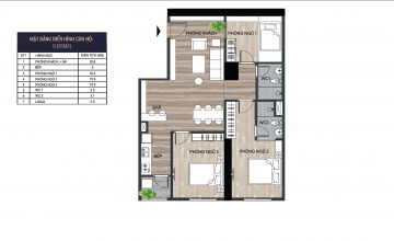 Thiết kế căn hộ tầng 05-36 tòa Euro River Tower