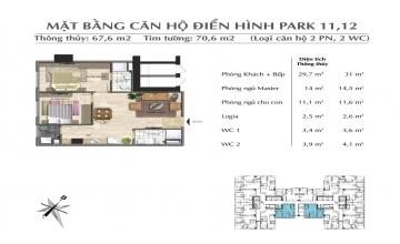 Thiết kế căn hộ tòa Park 03